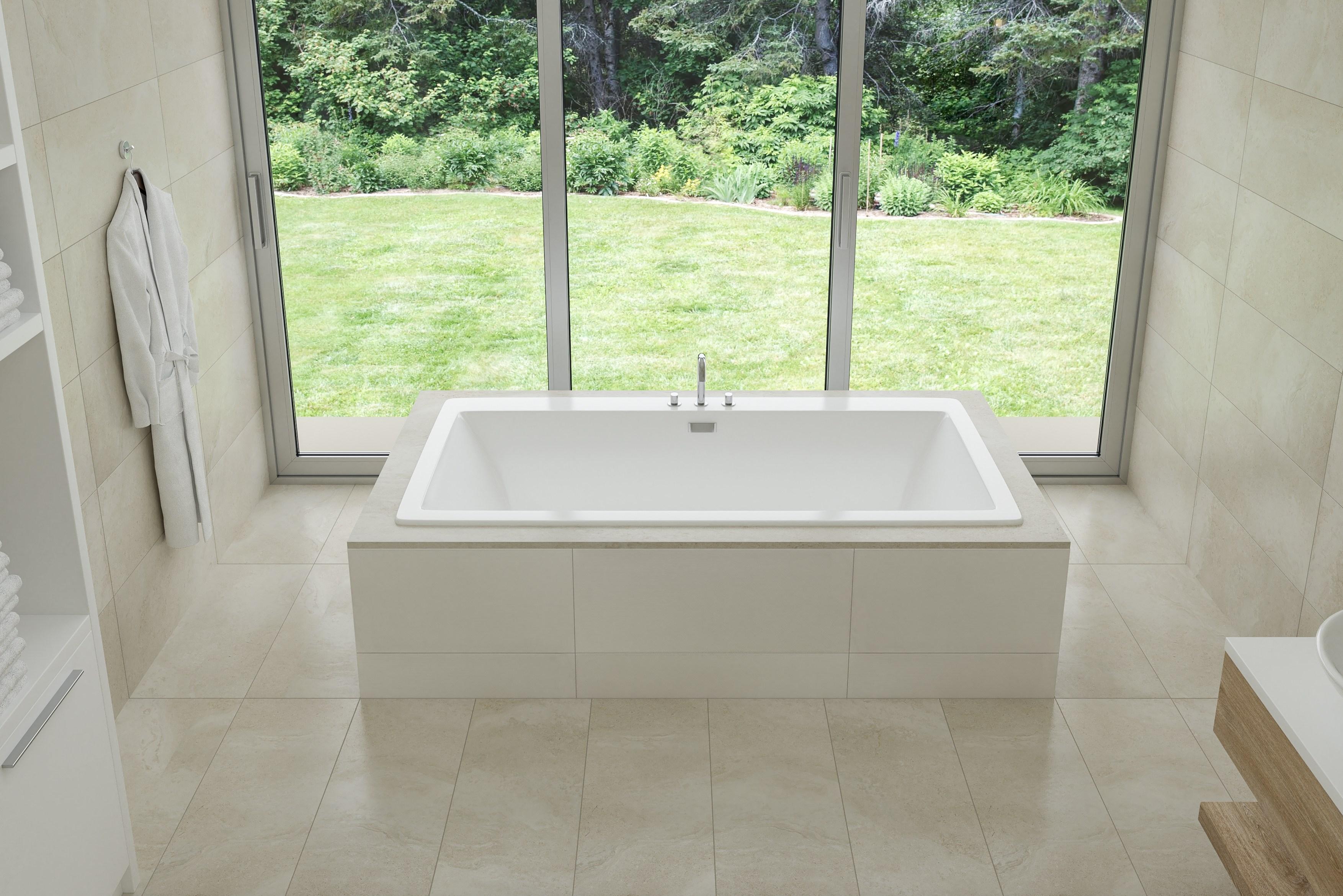 Beacon 67x36 Drop-In Tub - Waterflo