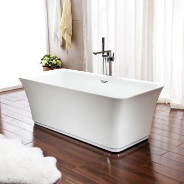 London F1 Freestanding Tub - Soaker / Air System - Waterflo