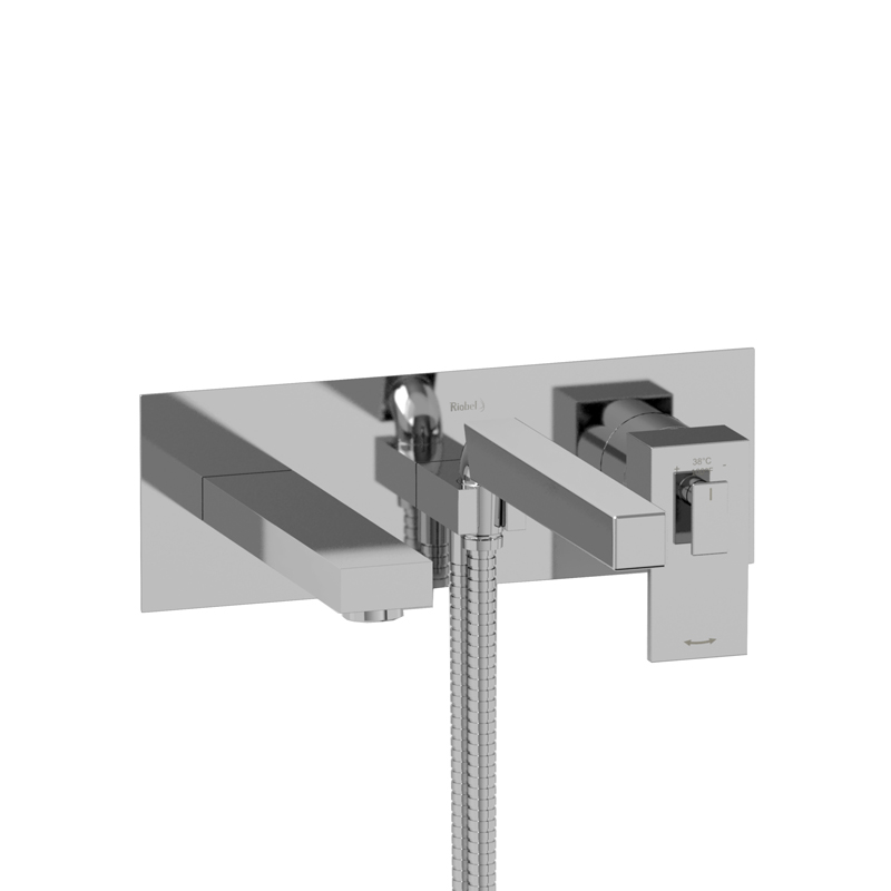 Coaxial Wall Mount : Us wall mount type t p thermo pressure balance coax
