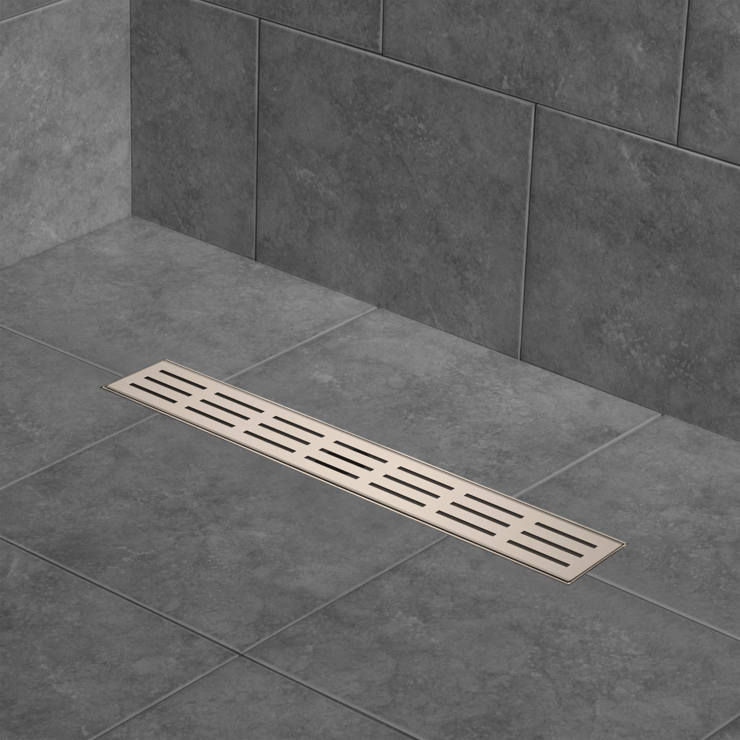 Zitta Linear Shower Drains Waterflo